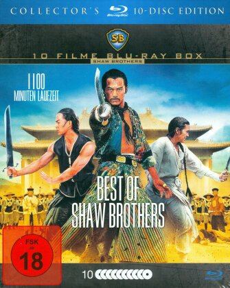 Best of Shaw Brothers (Collector's Edition, 10 Blu-rays)