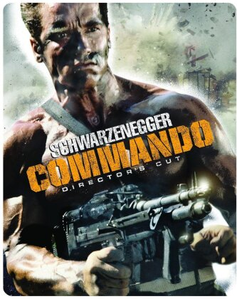 Commando (1985) (Director's Cut, Limited Edition, Steelbook)
