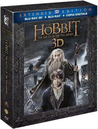 Lo Hobbit 3 - La battaglia delle cinque armate (2014) (Extended Edition, 3 Blu-ray + 2 Blu-ray 3D)