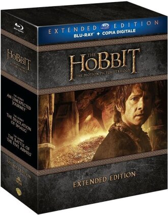 The Hobbit - The Motion Picture Trilogy (Extended Edition, 9 Blu-rays)