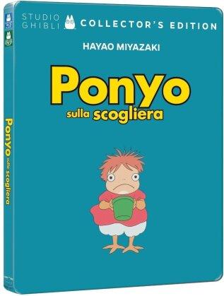 Ponyo sulla scogliera (2008) (Édition Collector, Steelbook, Blu-ray + DVD)
