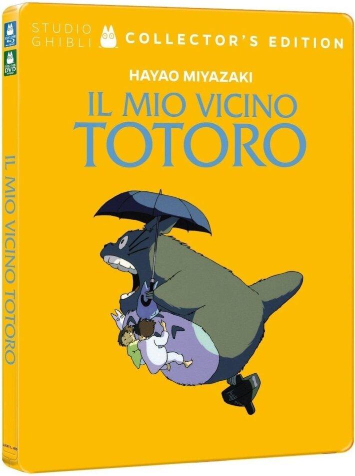 Il mio vicino Totoro (1988) (Collector's Edition, Steelbook, Blu-ray + DVD)