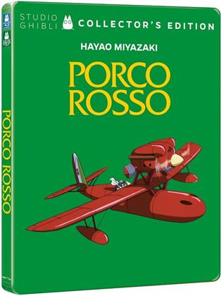 Porco Rosso (1992) (Collector's Edition, Steelbook, Blu-ray + DVD)