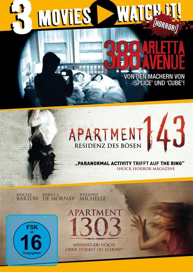 388 Arletta Avenue / Apartment 143 / Apartment 1303 (3 DVDs)