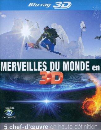 Merveilles du monde en (2015) (5 Blu-ray 3D)