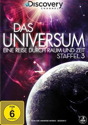Das Universum - Eine Reise durch Raum und Zeit - Staffel 3 (Discovery Channel, 3 DVDs)