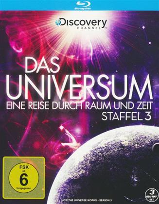 Das Universum - Eine Reise durch Raum und Zeit - Staffel 3 (Discovery Channel, 3 Blu-rays)