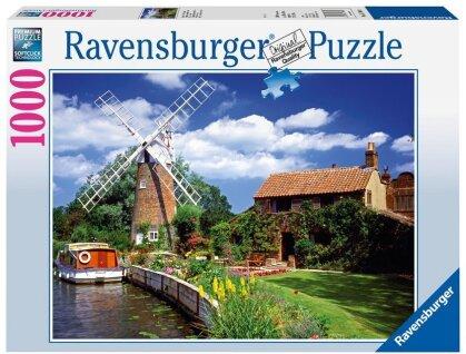 Malerische Windmühle - Puzzle