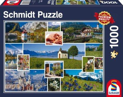 In den Bergen - Puzzle
