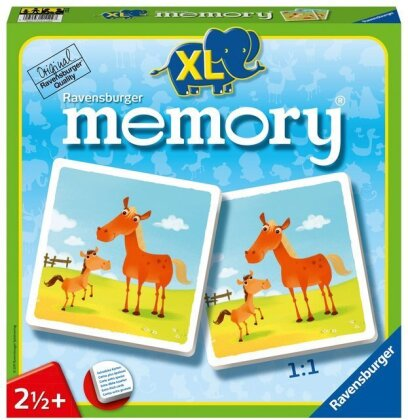 memory XL - Taille XL