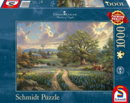 Thomas Kinkade: Country Living - 1000 Teile Puzzle