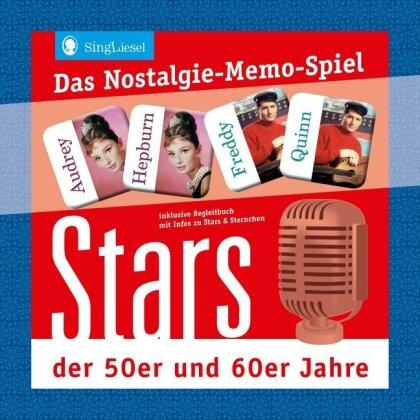 Das Nostalgie Memo-Spiel - Unsere geliebten Stars
