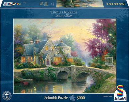 Thomas Kinkade: Abendstimmung - 3000 Teile Puzzle