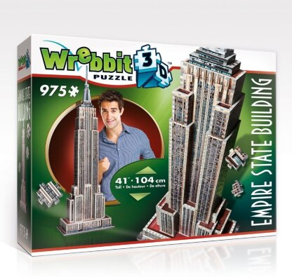 The Classics: Empire State Building 3D - 975 Teile Puzzle