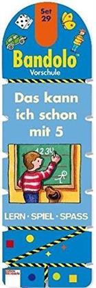 Das kann ich schon mit 5 - LernSpielSpaß mit Lösungsschnur. Was gehört zusammen? Dreh um, schau nach!, Für Vorschulkinder u. Schulanfänger