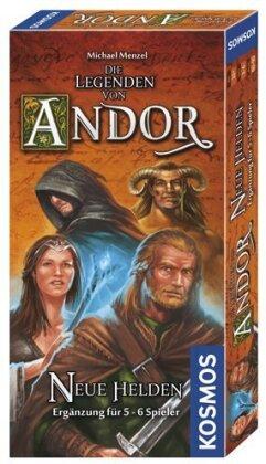 Die Legenden von Andor: Neue Helden - Ergänzung