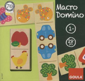 Macro Domino (Kinderspiel) - 28 Teile
