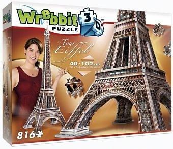 Eiffelturm - 816 Teile 3D-Puzzle