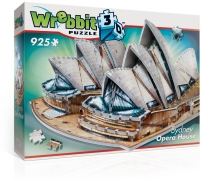 The Classics: Sydney Opera House - 925 Teile 3D Puzzle