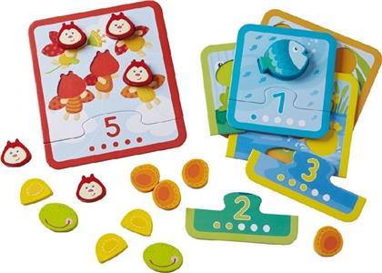 Zuordnungsspiel Tierischer Zählspaß (Kinderspiel)