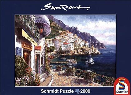 Sam Park: Amalfi am Nachmittag - 2000-Piece Jigsaw Puzzle