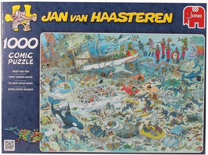 Jan van Haasteren: Unterwasserwelt - 1000 Teile Puzzle