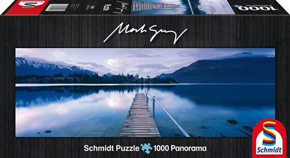 Lake Wakatipu, New Zealand - 1000 Teile Panoramapuzzle