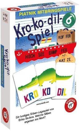 Kro-Ko-Dil-Spiel - Ein lustiges Silben-Legespiel. Welche Silben ergeben ein Wort?