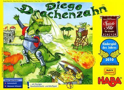 Diego Drachenzahn - Kinderspiel des Jahres 2010