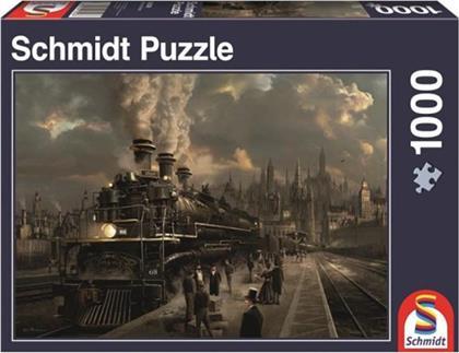 Lokomotive - 1000 Teile Puzzle