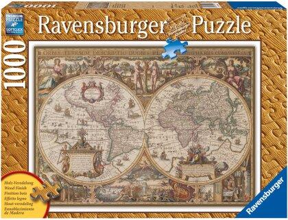 Antike Weltkarte - Puzzle