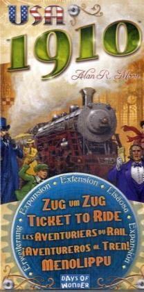 Zug um Zug - USA 1910 Erweiterung