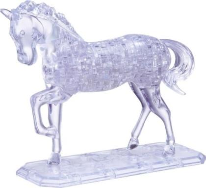 Pferd gross transparent - 100 Teile Crystal Puzzle