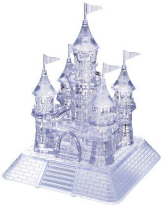 Crystal Puzzle - Schloss gross transparent