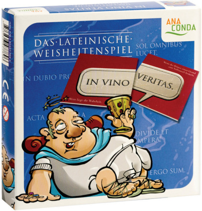 In vino veritas - Das lateinische Weisheitenspiel