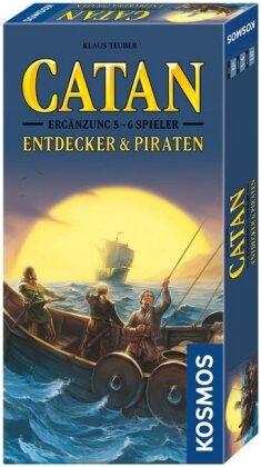 Catan: Entdecker & Piraten - Ergänzung für 5 & 6 Spieler