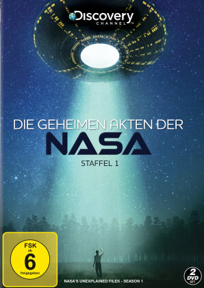 Die geheimen Akten der NASA - Staffel 1 (Discovery Channel, 2 DVDs)