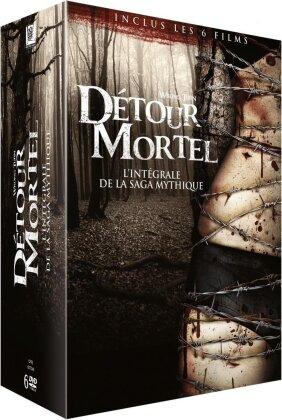 Détour mortel 1-6 - L'intégrale de la saga mythique (6 DVDs)