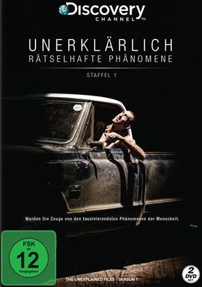 Unerklärlich - Rätselhafte Phänomene - Staffel 1 (Discovery Channel, 2 DVD)