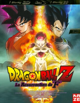 "DragonBall Z - La Résurrection de ""F"" - Le film (Blu-ray 3D + Blu-ray)"