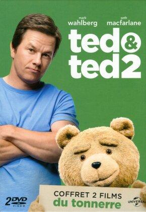 Ted 1 & 2 (Coffret 2 films du tonnerre, 2 DVDs)