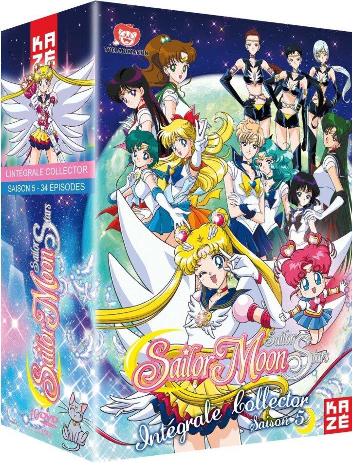 Sailor Moon Sailor Stars - Saison 5 - Intégrale (Collector's Edition, 10 DVDs)