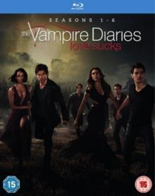 Vampire Diaries - Seasons 1-6 (24 Blu-rays)