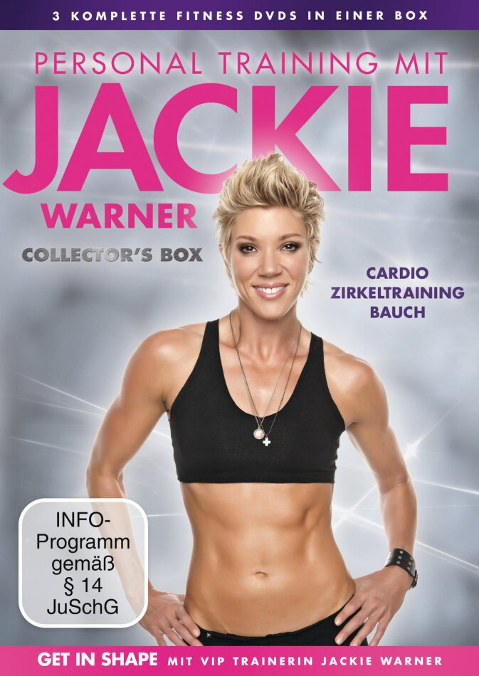 Personal Training mit Jackie Warner (Collector's Edition, 3 DVDs)