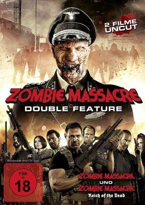 Zombie Massacre - Double Feature (Uncut, 2 DVDs)