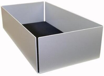 CD Softcover Box Alu XL 80 - eloxiert