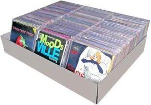 CD Softcover Box Alu XXL 420 - Aluminium eloxiert