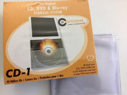 CD Softcover Hüllen - Pack a 40 Stück