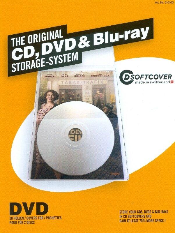 DVD Softcover Hüllen - Pack a 20 Stück