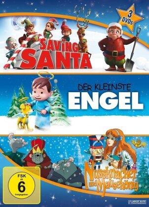 Saving Santa / Der kleinste Engel / Nussknacker und Mausekönig (3 DVDs)